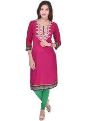 Shop Rajasthan Printed Cotton Straight Kurti -Sre2517