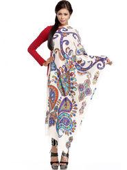 Aapno Rajasthan Pashmina  Multicolor Shawl -St1428