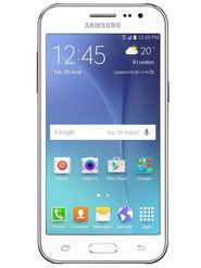 Samsung Galaxy J2 Android Lollipop, Quad Core Processor with 1GB RAM & 8GB ROM - White