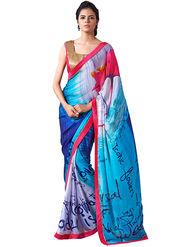 Nanda Silk Mills Fancy Printed Saree_Sap-302