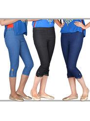 Set of 3 Capris for Ladies