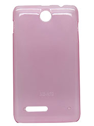 Snooky Back Cover for Micromax Canvas Viva A72 - Pink