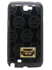 Snooky Back Cover for Samsung Galaxy Note2 N7100 - Black - 12382606