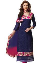 Viva N Diva Chanderi Bhagalpuri Karachi Embroidered Unstitched Suit Suhaani-1006