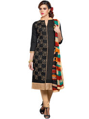 Thankar Semi Stitched  Cotton Embroidery Dress Material Tas281-101Dm
