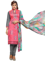 Thankar Semi Stitched  Cotton Embroidery Dress Material Tas281-103Dm