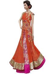 Thankar Semi Stitched  Mono Net Embroidery Dress Material Tas312-5101