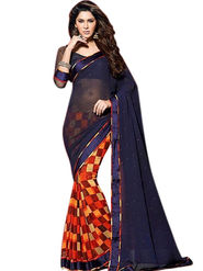 Thankar Embroidered Georgette Saree -Tds132-16644