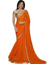 Thankar Embroidered Georgette Saree -Tds132-16648