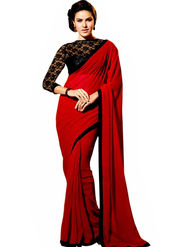 Thankar Embroidery Georgette Saree -Tds132-16651