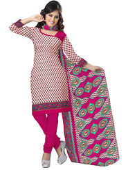 Triveni's Cotton Printed Dress Material -TSSDHSK1304