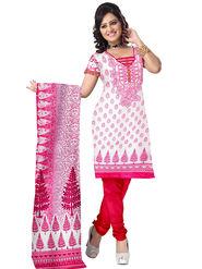 Triveni's Blended Cotton Printed Dress Material -TSSK13078