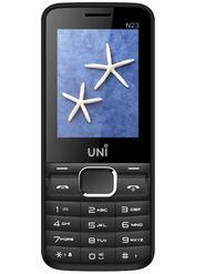 UNI N23 2.4 Inch Dual Sim Mobile - Black