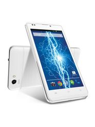 Lava Iris Fuel 20 5 Inch Dual Core Processor, Android Kitkat with 4400 mAh Long Lasting Battery - White