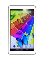 Vox V105HD 7 Inch Dual Core Android Kitkat Dual Sim 3G Calling Tablet - White