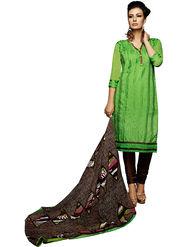 Khushali Fashion Chanderi Embroidered Unstitched Dress Material -VSIDC451013