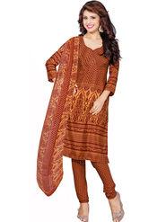 Khushali Fashion Silk Printed Unstitched Dress Material -VSPKV24421