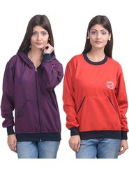 Pack of 2 Eprilla Plain  Sweatshirts  -eprl73
