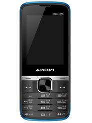 Adcom Boss X15 Dual Sim Phone - Black&Blue
