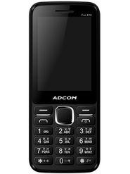 Adcom Fun X16 Dual Sim Mobile - Black