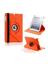 Pinguz 360 Degree Rotating PU Leather Smart Cover Case Stand For Apple IPad 2/3/4  - Orange