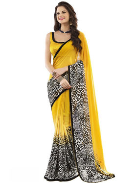 Nanda Silk Mills Fancy Printed Saree_Vr-1175
