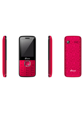 Mtech L6+ Dual Sim Feature Phone - Black & Red