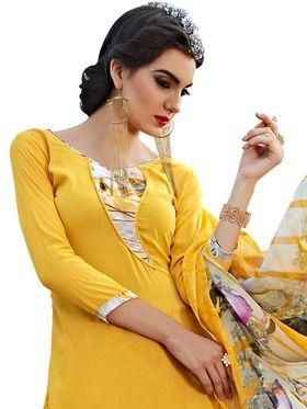 Viva N Diva Printed Unstiched Dress Material_11070-Stella