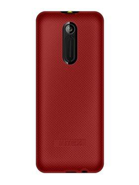 Intex Nano 104 Dual SIM Mobile Phone - Black  & Red