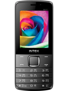 Intex Slimzz Duoz Dual SIM Mobile Phone - Grey