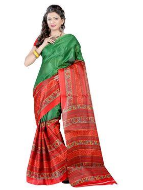 Combo Of 2 Carah Bhagalpuri Printed Saree_CRH-N300