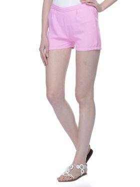 Lavennder Ladies Georgette Short With Lining - Baby Pink_LW-5155