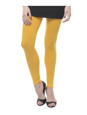 Combo Of 6 Lavennder Cotton Lycra Solid Legging_CNLEG-2904-4