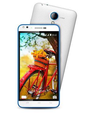 Karbonn Titanium MACH-5 5 Inch Android Lollipop ( RAM : 2GB ROM : 16 GB ) - White & Blue