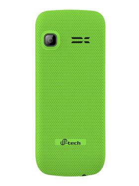 Mtech L6+ Dual Sim Feature Phone - Green & Black
