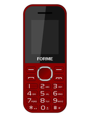 Forme K09 1.8 Inch Dual Sim Mobile - Red