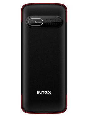 Intex Eco 205 1.8 Inch Dual Sim - Black & Red