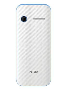 Intex Turbo S3 2.4 Inch Dual Sim - White & Blue
