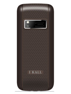 I Kall K88 1.8 inch Dual Sim Mobile  - Grey & Black