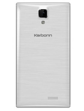 Karbonn A307 4 Inch Android KitKat 3G Smartphone - Silver