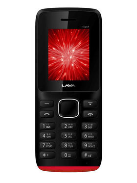 Lava Arc Magic + 1.8 Inch Dual Sim - Black & Red