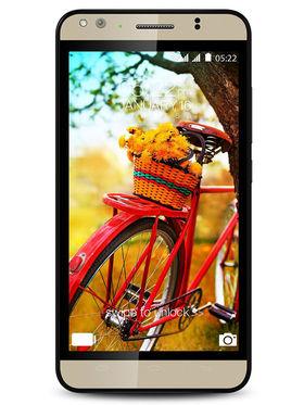 Karbonn Titanium Machfive (Champagne)- 5 Inch Android V5, 2GB RAM, 16GB ROM