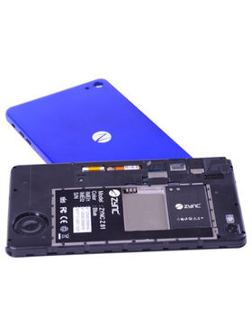 Zync Z81 3G Calling with Changeable Blue back Panel & Expandable Batterywith Keyboard ( Blue )