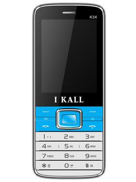 I Kall K34 Dual SIM Mobile Phone - Blue