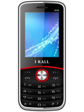 I Kall K40 Dual SIM Mobile Phone - Black