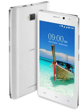 Lava A82 5 Inch Lollipop 3G Smartphone (RAM : 1GB ROM : 8GB) White