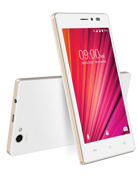 Lava Iris X17 - White & Gold