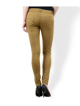 Women Slim Fit Cotton Lycra Stretchable Trouser - TGLCH-3