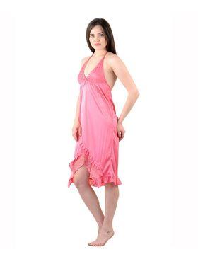Pack of 3 Stylish Satin and Hosiery Women Nighties - AENTY-020916