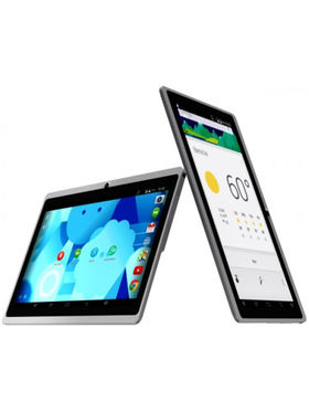 DOMO Slate X15 Quad Core Processor 4GB Edition with Dual Camera Tablet PC Kitkat 4.4.2, 3G via Dongle + Wi-Fi(White)